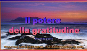Il potere della gratitudine 2
