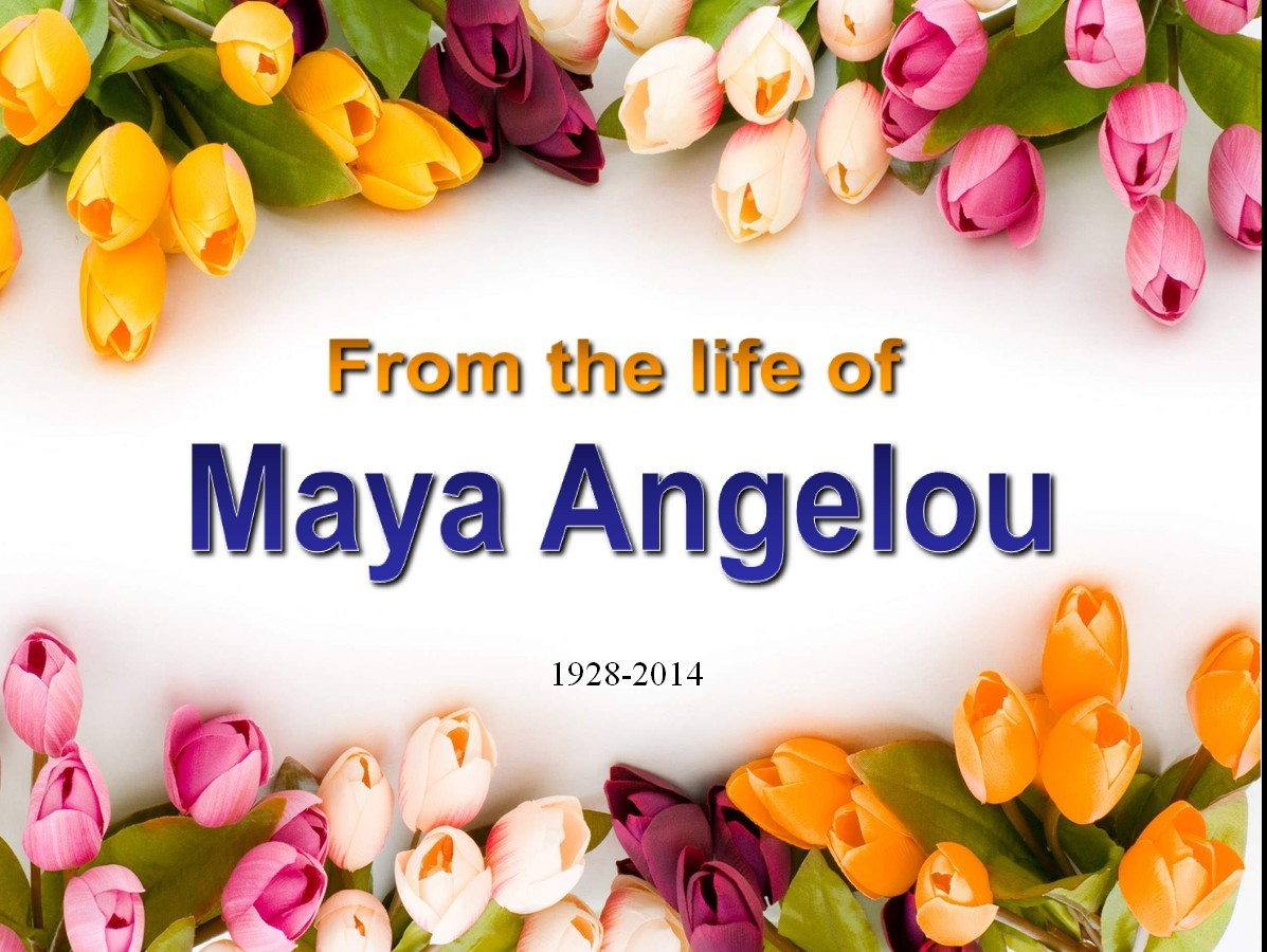 the curious life of maya angelou Maya's world: renee marie of our matriarch became an inspiration maya angelou's words, spoken and the arts shaped dr angelou's life and how she.