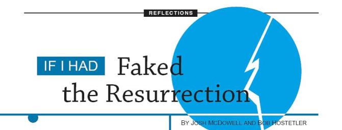 If I Had Faked the Resurrection