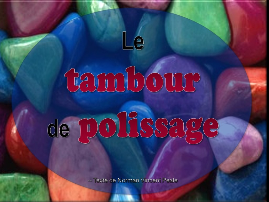 Le tambour de polissage [French: The Tumbling Barrel]