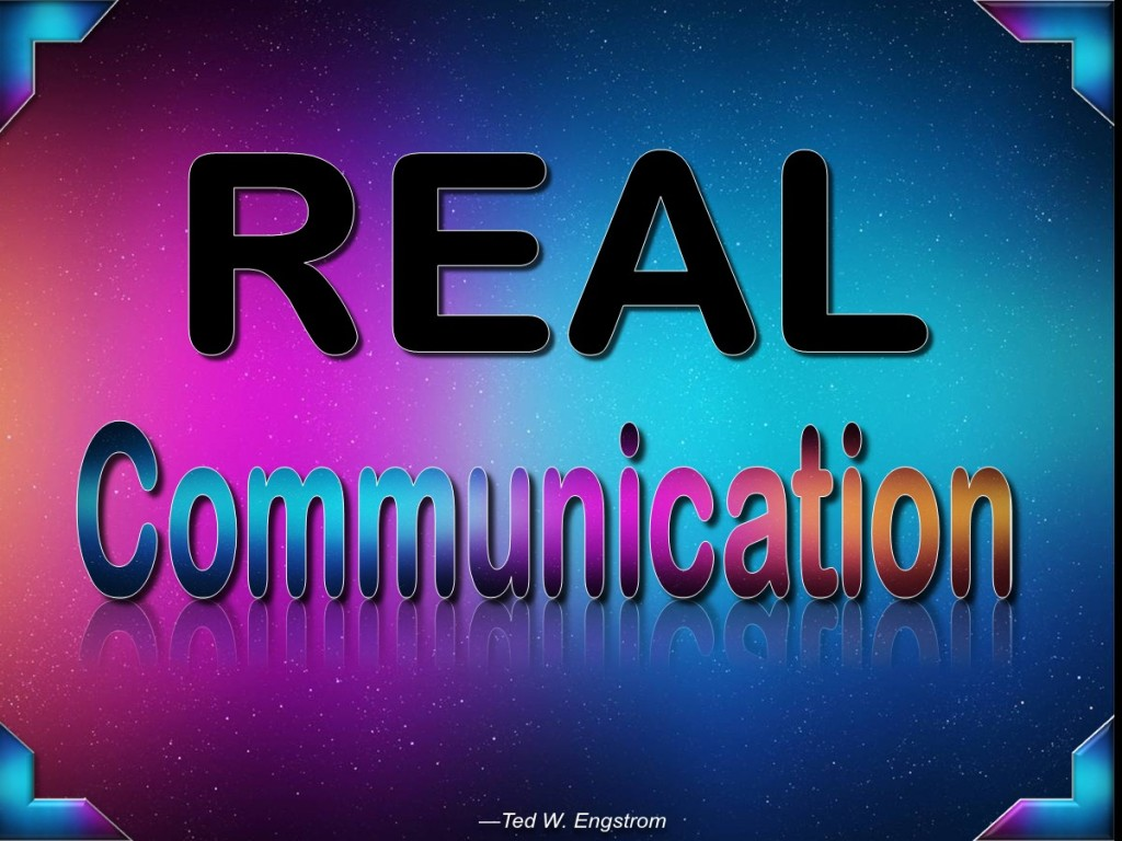 Real Communication