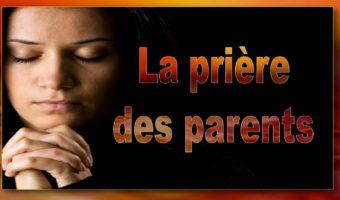 La prière des parents