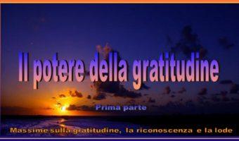 Il potere della gratitudine 1