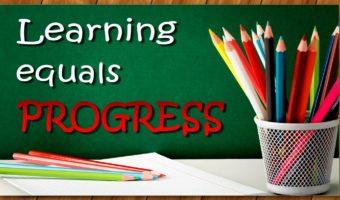 Learning Equals Progress