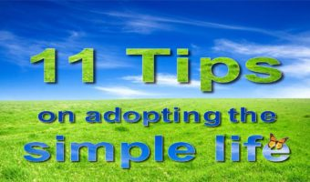 11 Tips on Adopting the Simple Life