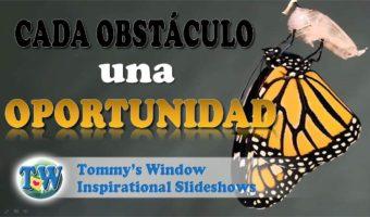 ¡Cada obstáculo una oportunidad!