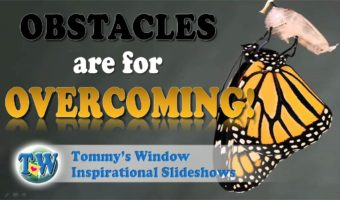 Obstacles are for Overcoming!